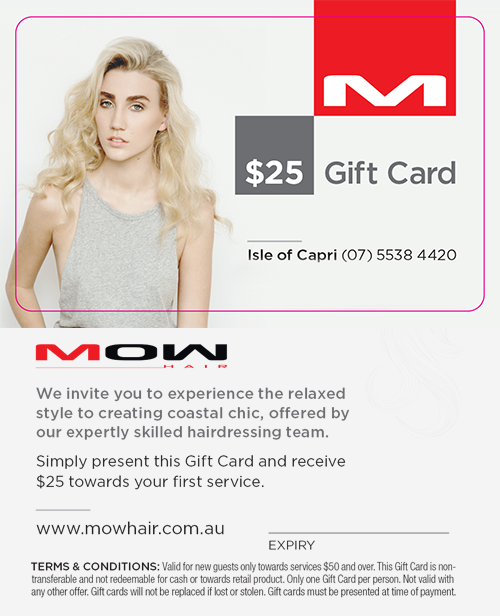 Mow Gift Card