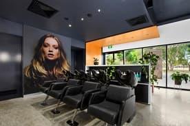 Salon Shampoo Area